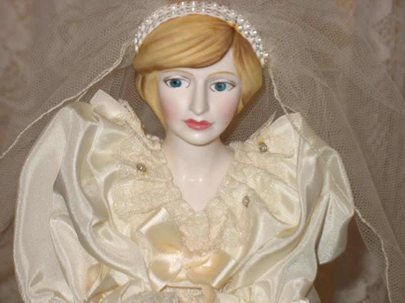 Grandma Alices Attic Princess of Wales Bride Doll SOLD